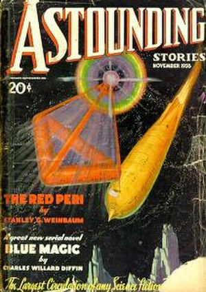 The Red Peri - Image: Astounding Cover 11 35