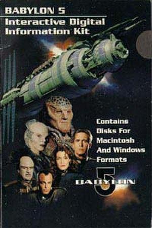 Babylon 5's use of the Internet - Original Babylon 5 Interactive Information Kit