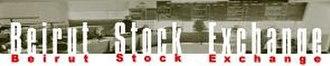 Beirut Stock Exchange - Logo