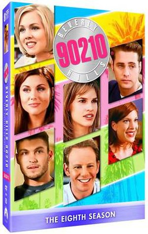 Beverly Hills, 90210 (season 8) - DVD cover