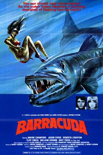 Barracuda (1978 film) - Theatrical release poster