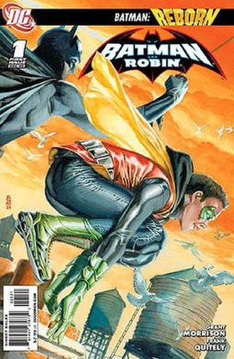 Batman and Robin (comic book) - Image: Batman and Robin