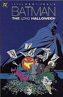 <i>Batman: The Long Halloween</i> limited comic book series by Jeph Loeb (1996-1997)