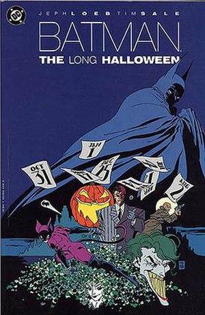 Batman: The Long Halloween - Batman: The Long Halloween TPB Art by Tim Sale