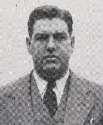 Bernard Hickman - Hickman pictured in Thoroughbred 1947, Louisville yearbook