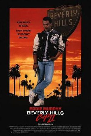 Beverly Hills Cop II - Theatrical release poster