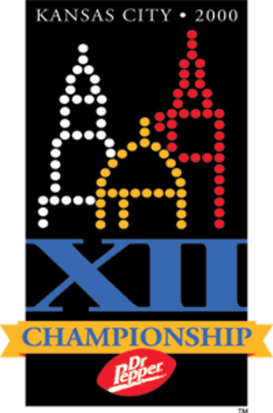 2000 Big 12 Championship Game - Image: Big 12Champ Game 2000logo
