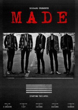 Made World Tour - Image: Big Bang Made Tour Poster
