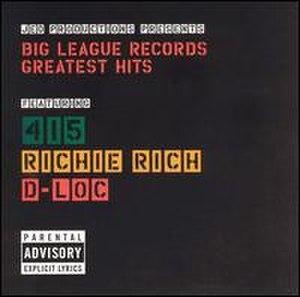 Big League Records Greatest Hits - Image: Big League Records Greatest Hits