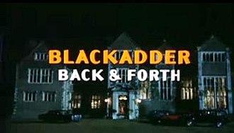 Blackadder: Back & Forth - Image: Blackadder Back & Forth