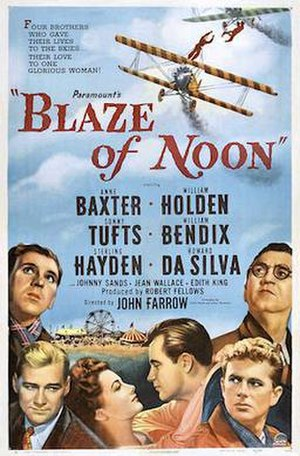 Blaze of Noon - Theatrical Film Poster