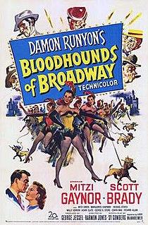 <i>Bloodhounds of Broadway</i> (1952 film) 1952 American film by Harmon Jones