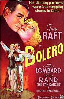 <i>Bolero</i> (1934 film) 1934 film by Wesley Ruggles