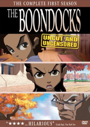 The Boondocks (season 1) - Image: Boondocks season 1 DVD