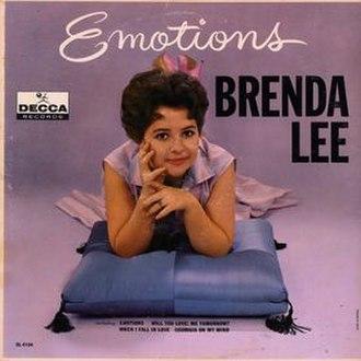 Emotions (Brenda Lee album) - Image: Brenda Lee Emotions