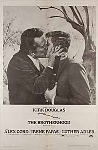 The Brotherhood (1968 film) - Theatrical release poster