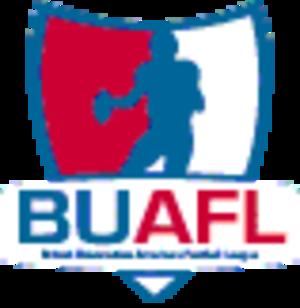 British Universities American Football League - BUAFL logo