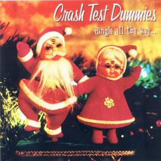 Jingle All the Way (Crash Test Dummies album) - Image: CT Djingle
