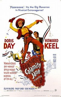 <i>Calamity Jane</i> (film) 1953 film musical directed by David Butler