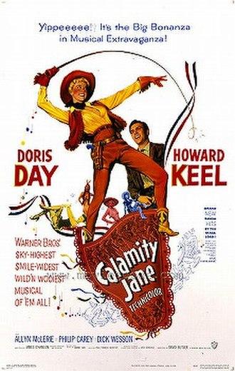 Calamity Jane (film) - Theatrical poster