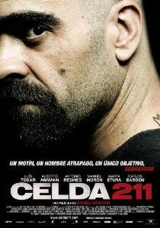 Celda 211 - Theatrical release poster