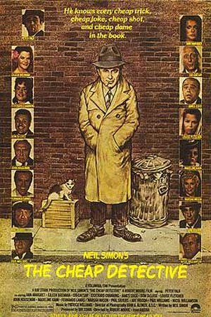 The Cheap Detective - Theatrical poster