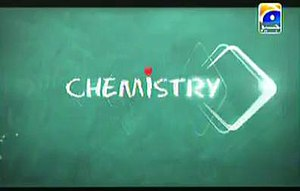 Chemistry (drama) - The opening title screen for Chemistry