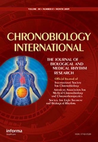 Chronobiology International - Image: Chronobiology International