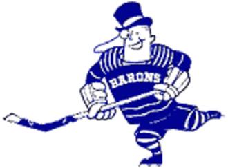 Cleveland Barons (1937–73) - Barons alternate logo.