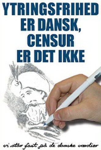 Danish People's Party - Image: Danish People's Party (Freedom of speech is Danish, censorship is not, 2007)