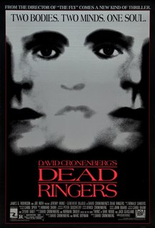 <i>Dead Ringers</i> (film) 1988 film by David Cronenberg