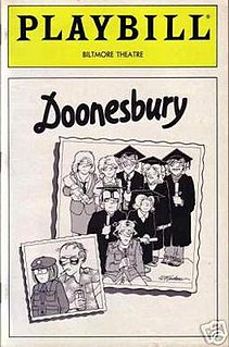 <i>Doonesbury</i> (musical) broadway musical based on the comic strip