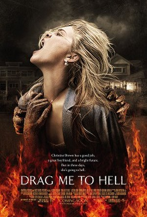 Drag Me to Hell - Theatrical release poster