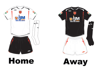 2007 Dundalk F.C. season - 2007-08 Kits