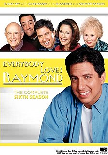 <i>Everybody Loves Raymond</i> (season 6) season of television series
