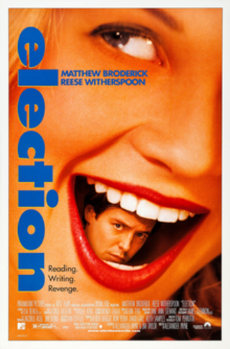 Election (1999 film) - Theatrical release poster