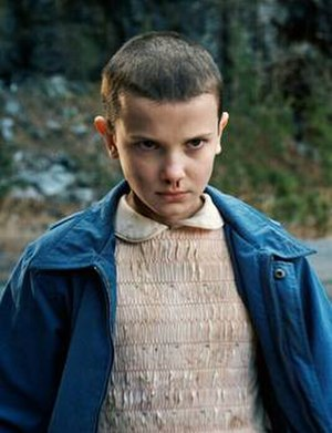 Eleven (Stranger Things) - Eleven in Season 1