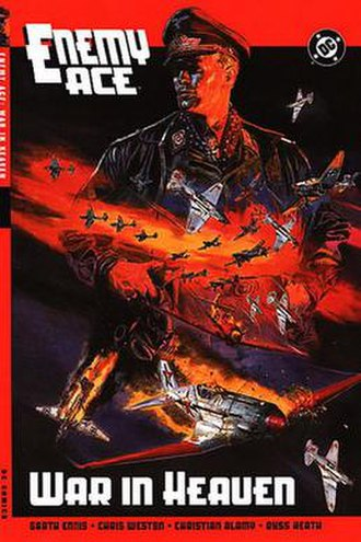 Enemy Ace - Cover of Enemy Ace - War in Heaven TPB.