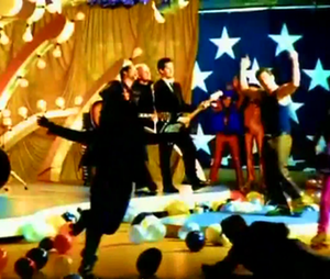 Every Morning (Sugar Ray song) - Sugar Ray playing amid a skating party in the music video.