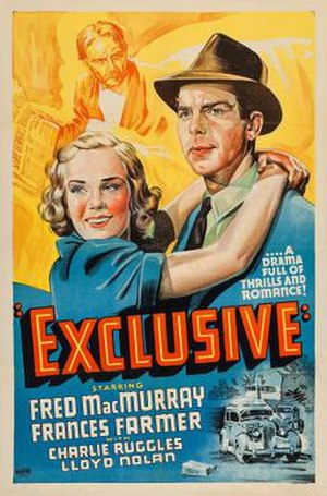Exclusive (film) - Theatrical release poster
