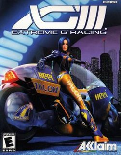<i>Extreme-G 3</i> 2001 video game