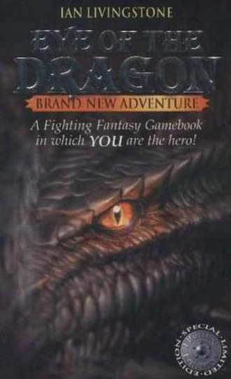 Eye of the Dragon - Cover of the first edition
