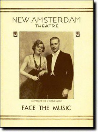 Face the Music (musical) - 1932 Playbill cover