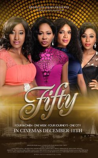 Fifty (film) - Theatrical release poster