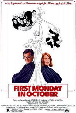 First Monday in October (film) - Theatrical release poster