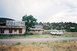 The Frisco Store in Lower Frisco