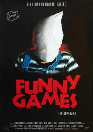 Funny Games (1997 film) - Original release poster