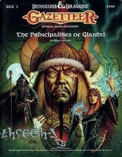 <i>The Principalities of Glantri</i> book by Bruce Heard