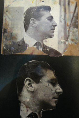 The Black Triptychs - Dyer photographed by John Deakin, retouched by Bacon, who often folded or creased, or spattered with paint, photographs of friend so as to find distortions he could exploit in this paintings. Although Dyer was handsome and charming in his own raw way, he was out of his depth when dealing with both Bacon's wasp-tongued Soho set and intellectual art world friends.