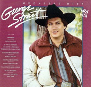 Greatest Hits (George Strait album) - Image: Georgehits